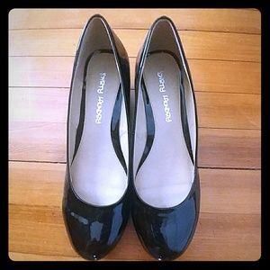 New! Dirty Laundry Piano Black Low Pumps 10W